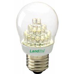 LANDLITE LED-G45-2W E27 230V warmwhite, LED lamp