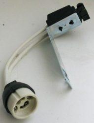LANDLITE HS-103B GU10 socket, with connector