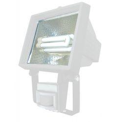 LANDLITE SL-F118-24W, 1X24W 118mm/R7s, reflector (CFLs included), with motion sensor, white