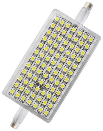 Landlite l118 5w r7s 220 240v 118mm warmwhite dimmable for Lampada led r7s 118mm dimmerabile