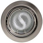 LANDLITE KIT-60A-3, 3pcs 13W GU10 230V white CFL (energy saving lamp), rotateable design, downlight KIT mat c