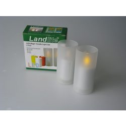 LANDLITE LED/CAL-01, 2 pieces in one set, magic LED candle