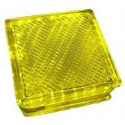 LANDLITE LED-G10-1x2W, yellow LED Crystalbrick lamp