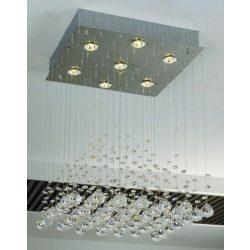 LANDLITE CANNES,MD51104-7B, 7XGU10 50W 230V, crystal lamp