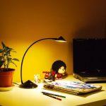 LANDLITE TLE-5014C 6W 3000K Black, LED desk lamp, dimmable
