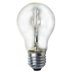 LANDLITE Halogen, E27, 70W, A55, 1175lm, 2800K, pear shaped bulb (HSL-A55-70W)