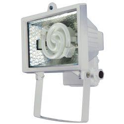 LANDLITE FL-F78-8W, 1X8W 78mm/R7s, reflector (CFLs included), white