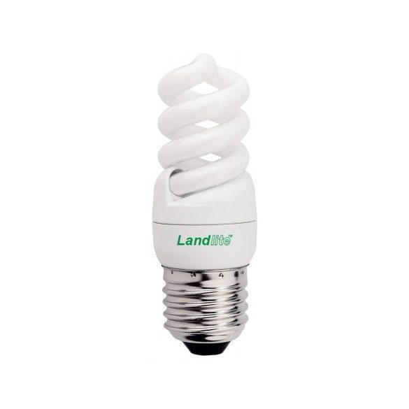 LANDLITE ELH/M-7W E27 230V, 8000 hour, 2700K, mini spiral, CFL (energy saving lamp)