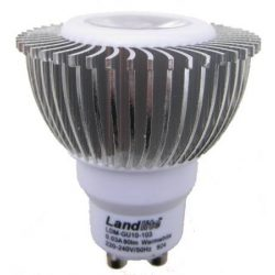 LANDLITE LED-GU10-103, 1x3W 230V warmwhite, LED lamp