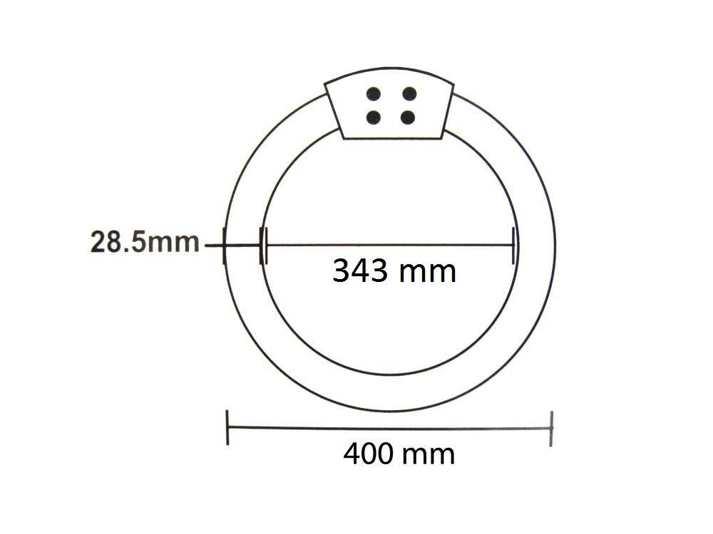 LANDLITE CCL-40W T9 230V 2700K G10q compact circular lamp