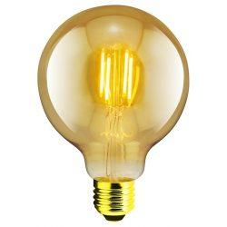 LANDLITE RUB-G95-4W/FLT E27, 1700K , decorative LED lamp
