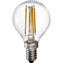 LANDLITE LED-G45-4W/FLT E14, 2700K, LED Filament Retrofit Lamp