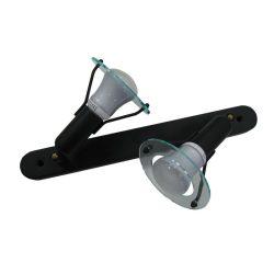 LANDLITE CLB-200 spot lamp R50 2xE14 40W 230V black