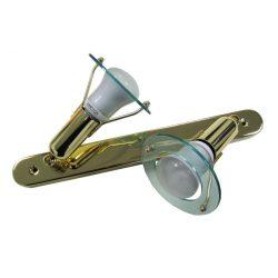LANDLITE CLB-200 spot lamp R50 2xE14 40W 230V brass