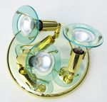 LANDLITE CLR-300 spot lamp R50 3xE14 40W 230V brass