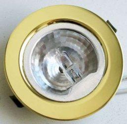 LANDLITE DL-04, 1xJC max 20W 12V G4 halogen lamp, fix design, single downlight lamp, in different colors