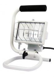 LANDLITE FLP-150, 1X150W 78mm R7s halogen floodlight, portable, white