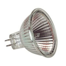 LANDLITE 12V halogen lamp, MR16 12V 20W BAB, opened