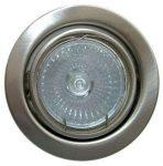 LANDLITE KIT-60A-3, 3pcs 50W GU10 230V halogen lamp, rotateable design, downlight KIT (3 pcs halogen KIT),mat