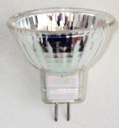 LANDLITE 12V halogen lamp, MR11 12V 35W FTH, opened