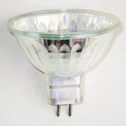 LANDLITE 12V halogen lamp, MR16 12V 35W FMW, opened