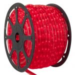 LANDLITE Q-Neon-50M-2R-12V/R, red, 50 meter,2- wire, cuttable light tube