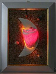LANDLITE SHELL LIGHT-002, 1xG9 230V 25W, shell lamp