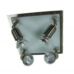 LANDLITE ELLEN 68384 Spot Lamp 4xGU10 50W 230V