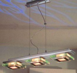 LANDLITE TRAVIS P6005/3L, 3X60W G9, hanging lamp