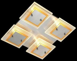 LANDLITE PROLIX C6025/4L, 4XG9 60W 230V, ceiling lamp