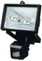LANDLITE SL-500, 1X500W 118mm R7s halogen floodlight, with movtion sensor, black