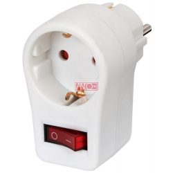 ANCO Adapter plug with 2pole switch
