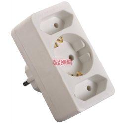 ANCO Adapter plug 1+ 2 Euro