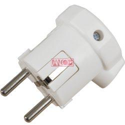 ANCO Grounding PVC plug lateral, white