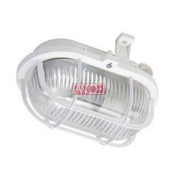 ANCO Oval bulkhead plastic , white