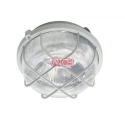 ANCO Plastic round lamp, white, 100W