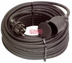 ANCO Outdoor extension cord with flap, 10 m