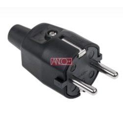 ANCO Grounding rubber plug, black