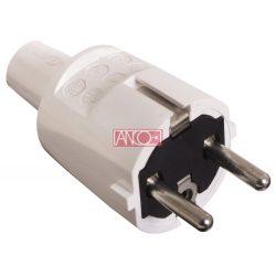 ANCO Grounding PVC plug, white
