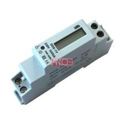 Digitális almérő DIN sínre, 1 fázisú