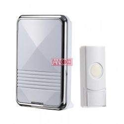 ANCO Wireless doorbell, 80m, silver