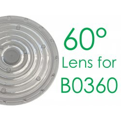 T6229/A0,60° Lens for B0360-A3B-NW, LED High Bay Light, 1-10V dimmable Turbo 360*184mm, 200W, 4000K, IP65