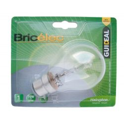 LANDLITE Bricélec HSL-A55-40W ECO-halogen bulb with socket B22 (bayonet mount)