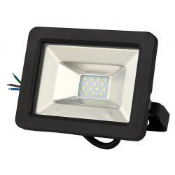 LANDLITE DF-51001C-10, 10W LED Floodlight, 3200K warm white, black