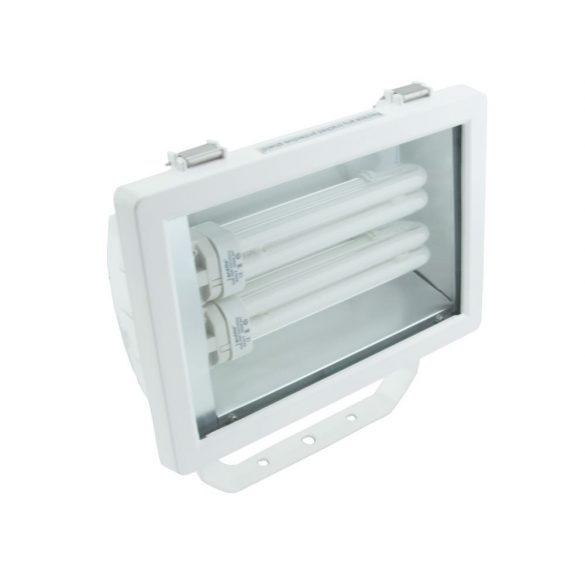 LANDLITE FL-226B, 2X26W G24q-3, reflector (CFLs included),white