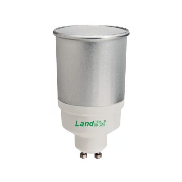 LANDLITE D-CFL-GU10-11W 230V 2700K 10000hour (DIMMABLE! energy saving lamp)