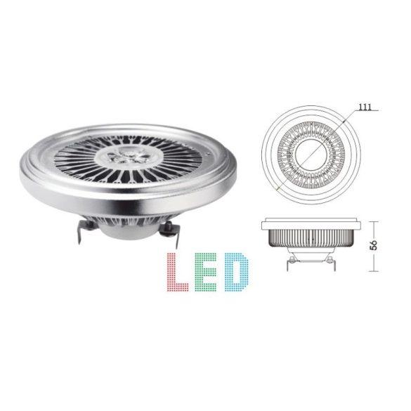 LANDLITE LED, G53, 9W, 380lm, 3000K, lamp (LED-AR111-303-9W)