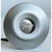 LANDLITE LED-GR02-2X1,0W, 2 pieces complementary SET, without a transformer, metallic colors: matte chrome, L