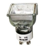 LANDLITE 230V halogen lamp, MRG-C 230V GU10 SQUARE 50W