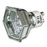 LANDLITE 230V halogen lamp, MRG-C 230V GU10 HEXAGON 50W
